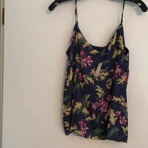 NEW floral tank top
